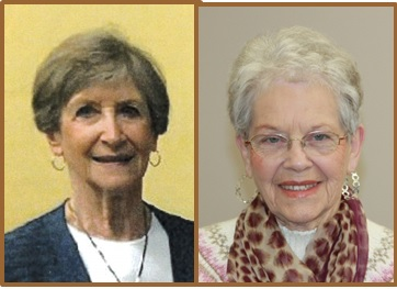 Sharon Bower (Oskaloosa, First) and Ruth Reed (Winterset, First United)