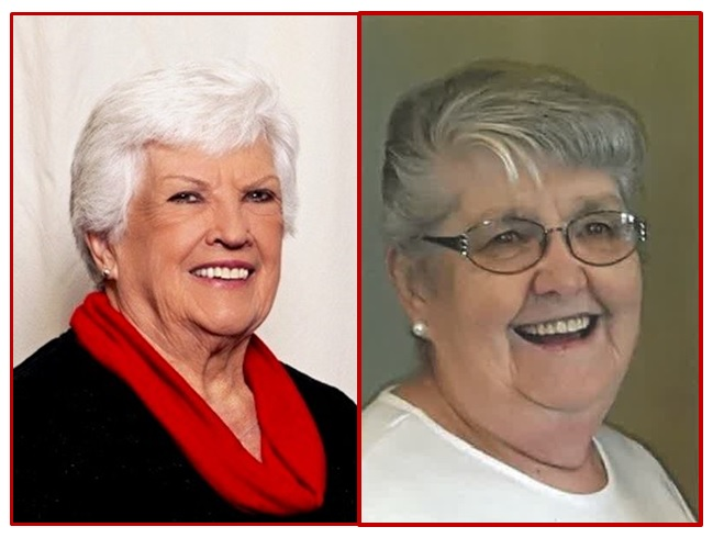 Sharon Falck (Oskaloosa, First) and Dorothy Leib (Guthrie Center, First)